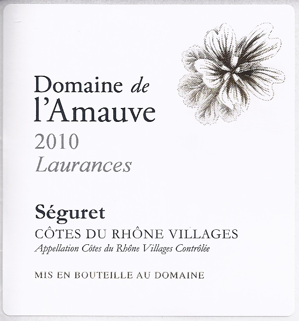 Label Laurances 2010
